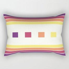 Skittle Brittle Rectangular Pillow