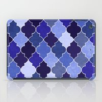 morocco iPad Cases featuring Morocco Blue by Jacqueline Maldonado
