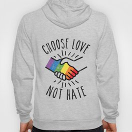 Pride Month Ally LGBT Support Gifts Rainbow Merch Hoody