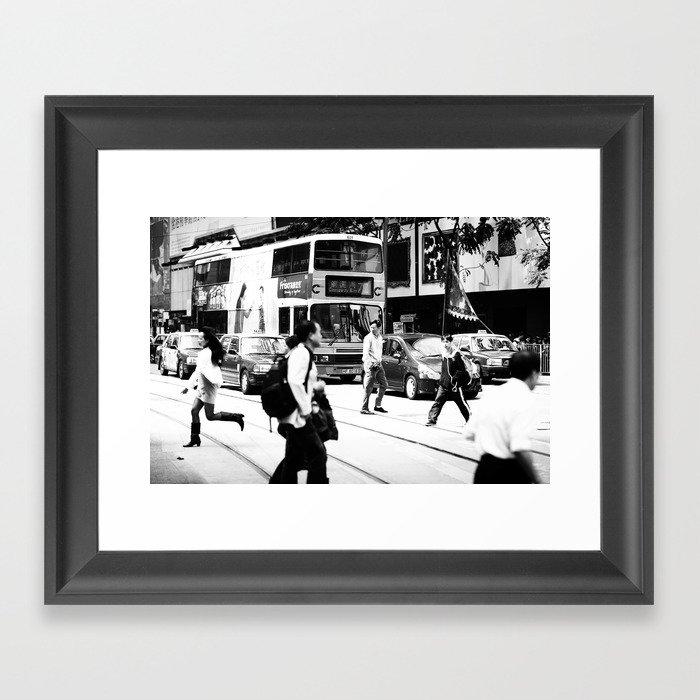 Missed connection  Framed Art Print