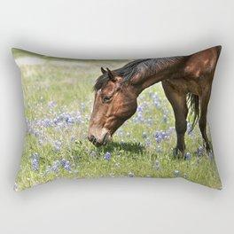 Don't Eat The Bluebonnets Rectangular Pillow