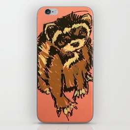 Itty the ferret boy iPhone Skin