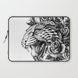 Ornate Leopard Black & White Variant Laptop Sleeve