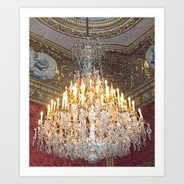 Crystal Elegance Art Print