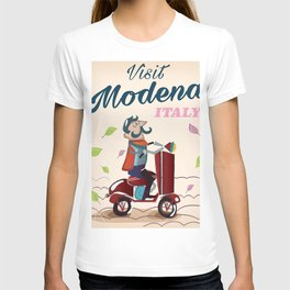 Modena Italy Scooter T-shirt