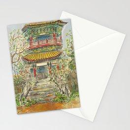 Abandoned Pagoda Stationery Cards