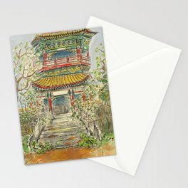 Abandoned Pagoda Stationery Cards