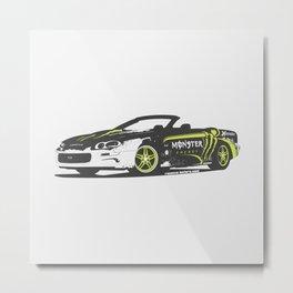 Monster Camaro Metal Print