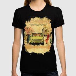 Retro Trabant 607 advertisement T-shirt