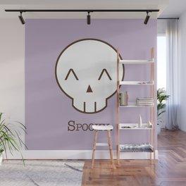 Spooky Skull Kawaii   Halloween Is Coming! Wall Mural