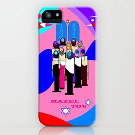 A Bat Mitzvah and Red Sea iPhone Case