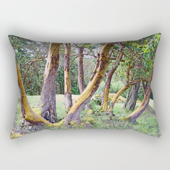 MAGIC MADRONA FOREST Rectangular Pillow