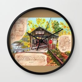 Rebuild the Bridge Wall Clock