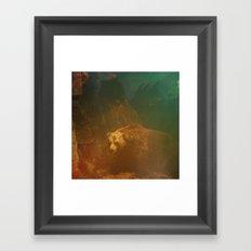 Walking Rug Framed Art Print