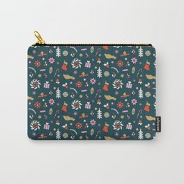 Holiday Pop Green Carry-All Pouch