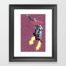 Robot Trousers Framed Art Print