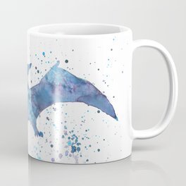 Watercolour Pterodactyl Coffee Mug
