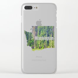 Within the Polder Waters Clear iPhone Case
