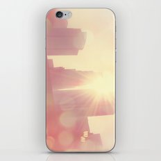 City of Lights. downtown Los Angeles skyline photograph iPhone & iPod Skin