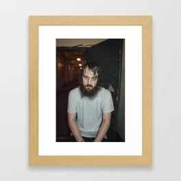 Hippie Sabotage // Backstage LA Framed Art Print