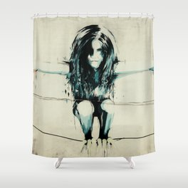 harpy Shower Curtain