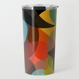 COLORED ENCOUNTERS BLACK Travel Mug