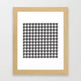 BostonTerrierTooth Tweed Framed Art Print