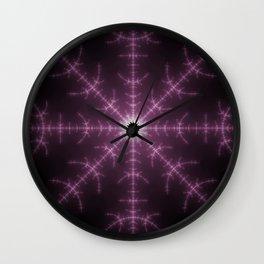 Fractal Singularity Wall Clock