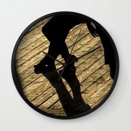 Dancing Silhouettes Wall Clock
