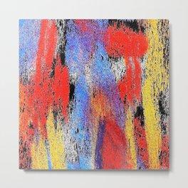 Multicolor pp Metal Print