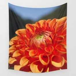 Dahlia closeup Wall Tapestry