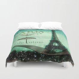 Paris... Je t'aime Duvet Cover