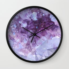 Crystal Gemstone Wall Clock
