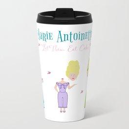 Marie Antoinette - Let Them Eat Cake Paper Dolls Travel Mug