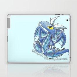 Baby Sapphire Dragon Laptop & iPad Skin