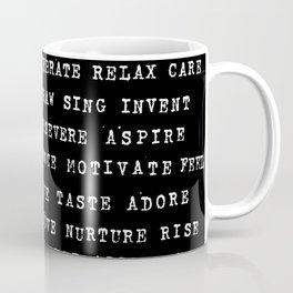 Yay You! #4 (Hand Stamped) Coffee Mug