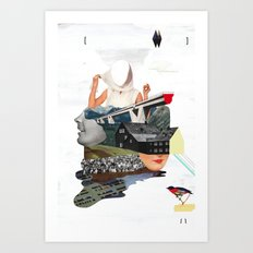 Solid things 7 Art Print