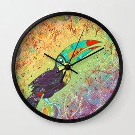 Toucan Can Do It! Wall Clock