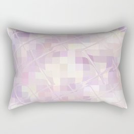 Re-Created Twisted SQ II by Robert S. Lee Rectangular Pillow