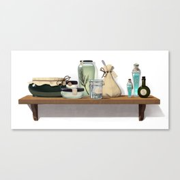 Potions and Poultices Canvas Print
