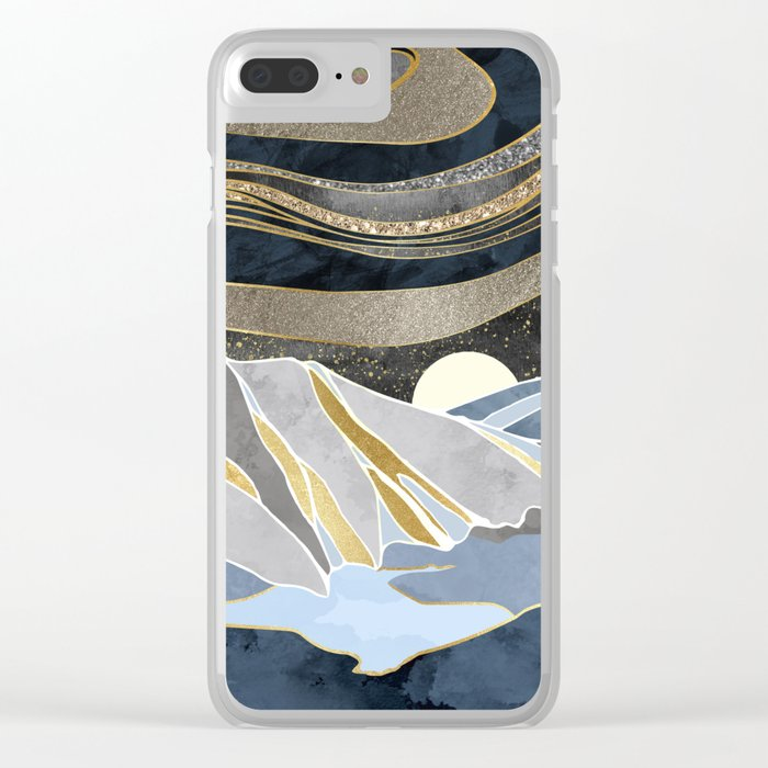 Metallic Sky Clear iPhone Case