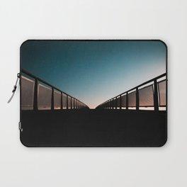 Bridge towards the light Laptop Sleeve