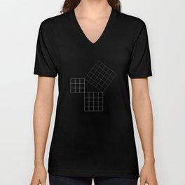 Pythagoras Theorem Unisex V-Neck