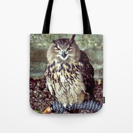 Happy Owl. Tote Bag