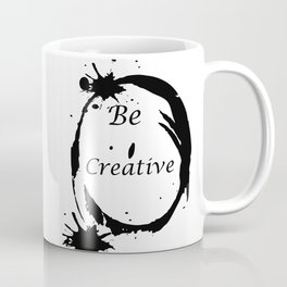 Be creative Coffee Mug
