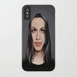 Celebrity Sunday ~ Alanis Morissette iPhone Case