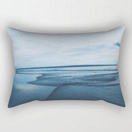 Calming down at Bali seaside Rectangular Pillow
