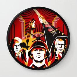Art print: Propaganda Musik Wall Clock