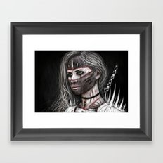 Ashes and What Once Was Framed Art Print
