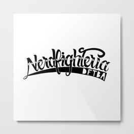 Nerdfighteria Metal Print